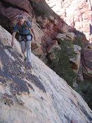 "Rock Climbing Photo: ""Small ledge system traversing left"" on ..."