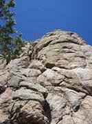 Rock Climbing Photo: Auto smiler 5.10b.