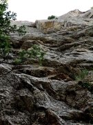 Rock Climbing Photo: The start of P1.