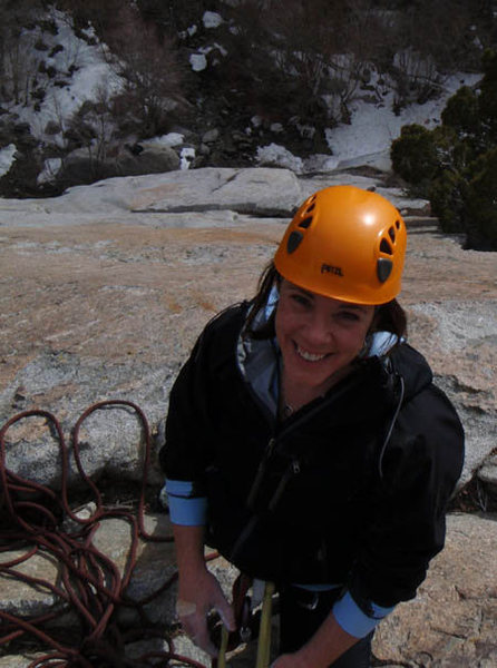 Rock Climbing Photo: Clearly happy to be here!
