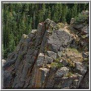Rock Climbing Photo: around falls