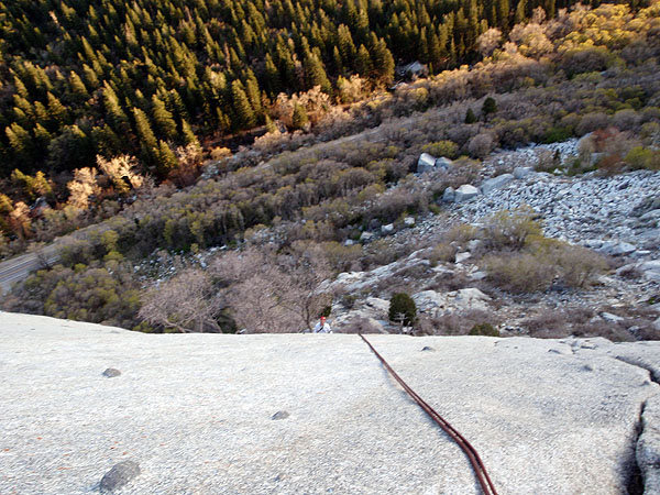 Rappel from The Hook