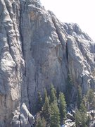 Rock Climbing Photo: The obvious straight crack on left of photo
