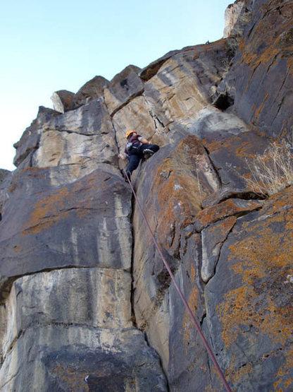 Rock Climbing Photo: Woody II