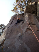 Rock Climbing Photo: Stemming II