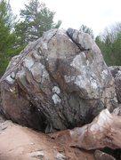 Rock Climbing Photo: The jam boulder