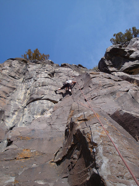 Rock Climbing Photo: CE on top rope