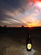 Rock Climbing Photo: St. Patrick's Day Sunset at Massacre Rocks
