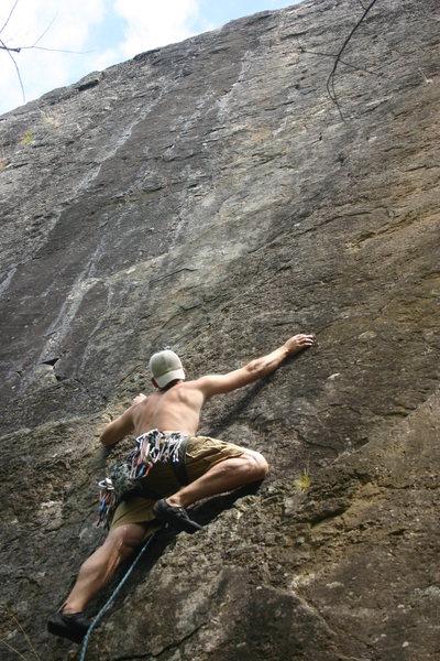 Rock Climbing Photo: Josh on Brown eye