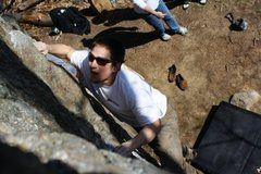 Rock Climbing Photo: Shot from the top