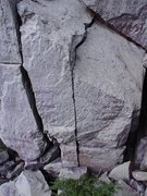 Rock Climbing Photo: Thin Crack.