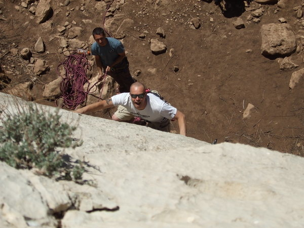 Rock Climbing Photo: Sinker, Jacks Canyon