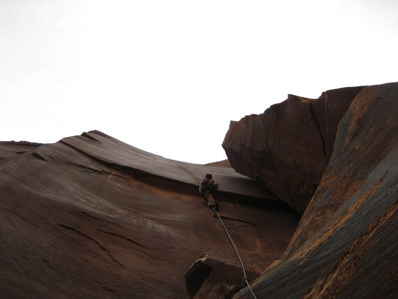 Rock Climbing Photo: Jordon Griffler on Luxury Liner.  April 25th 2009.