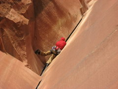 Rock Climbing Photo: Jordon G- Incredible Hand Crack.  April 25, 2009.