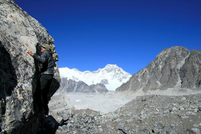 Bouldering in Nepal
