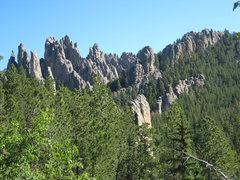 Rock Climbing Photo: The Needles.
