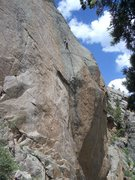 Rock Climbing Photo: Heinous slabs.. one climber's nightmare is another...