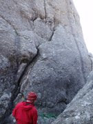 Rock Climbing Photo: start of ww