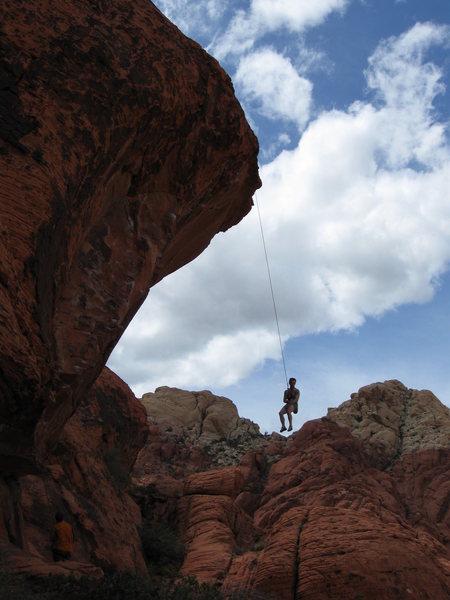 Steepness orientation.<br> photo: Matt