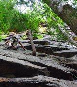 Rock Climbing Photo: Bobby Deez Butt Shot