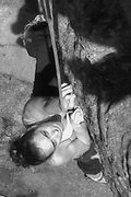 Rock Climbing Photo: olivia working out the blankness,,, it does work, ...