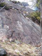 Rock Climbing Photo: mini pitch 1 (the slab)