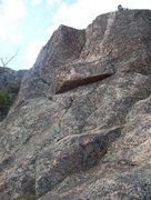 Rock Climbing Photo: 3rd mini pitch (corner)