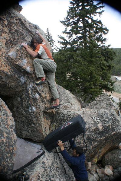 Rock Climbing Photo: Dead Weather.