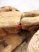 Rock Climbing Photo: At the lip