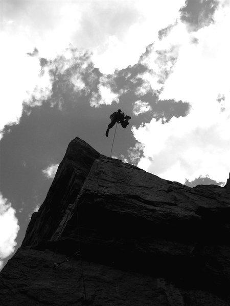 Rock Climbing Photo: Sarchasm. Brilliant. My Dad has a hazardous tenden...