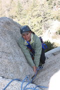 Rock Climbing Photo: Taquitz - Fingertrip Agina getting to the pitch 1 ...