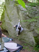 Rock Climbing Photo: Tara Boudreau on The Face Traverse