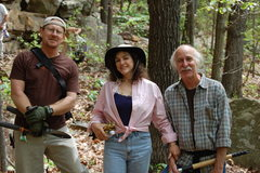 Rock Climbing Photo: Brad K., Betty Jo Merchant, and Roy Simmons.