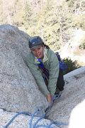 Rock Climbing Photo: P1 just below belay