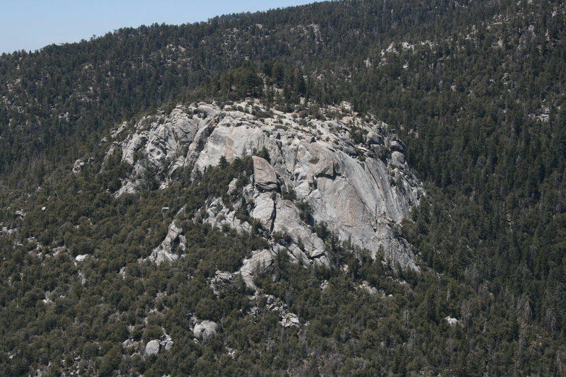 view of Suicide rock
