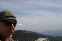 Rock Climbing Photo: Bill on top of Fingertrip 5.7