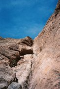 Rock Climbing Photo: Looking up At what, some would call pitch 2 and th...