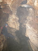 Rock Climbing Photo: One of the many water filled passages that's probl...