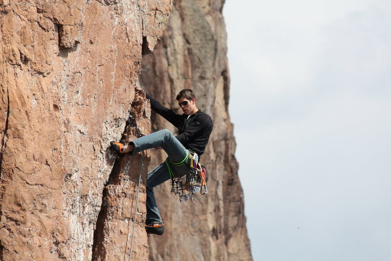 Chris on Laceration Jam<br> <br> Photo: Travis Hibbard