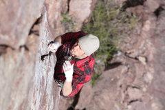 Rock Climbing Photo: Randy on OZ  Photo: Travis Hibbard