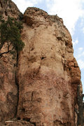 Rock Climbing Photo: Ascends the face just to the right of the crack.