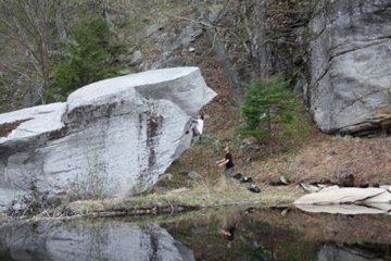 Rock Climbing Photo: This is a distant shot of most of the Beaver Dam B...