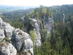 Rock Climbing Photo: Towers of Cesky Raj