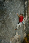 Rock Climbing Photo: slicky boy?