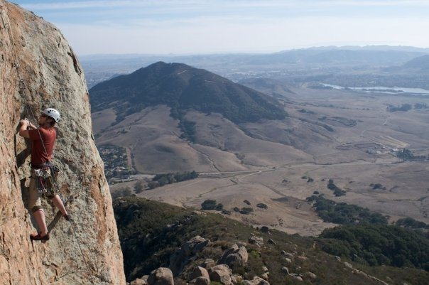 TRing &quot;Across the Universe&quot; (.11a) on Bishop Peak<br> <br> Photo: Ryan Matteson