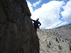 Rock Climbing Photo: Going up on Downsizing.