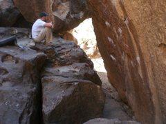 Rock Climbing Photo: idea of the landing