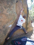 Rock Climbing Photo: Warm-up V3