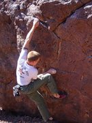 Rock Climbing Photo: Hueco Left