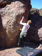 Rock Climbing Photo: V0+ Arete